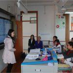 In the classroom - Shanghai School
