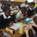 In the classroom - Ferndale School, South Africa