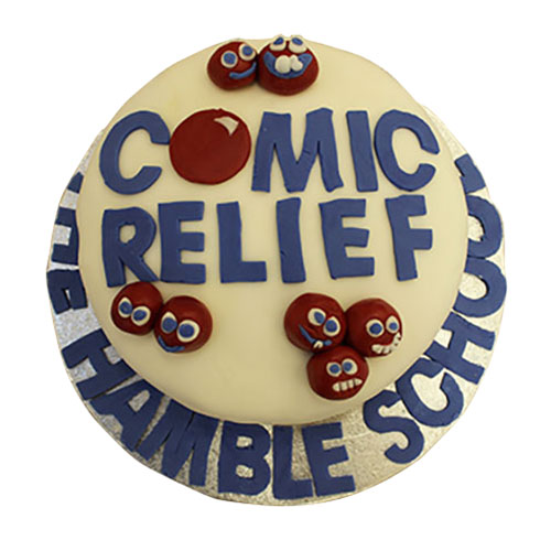Comic Relief Cake - Jane Capers