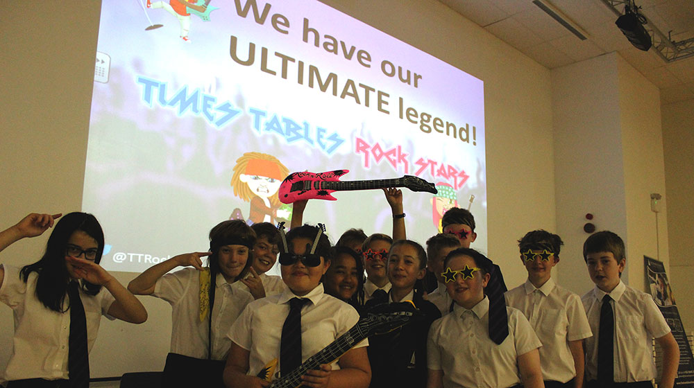 Times Tables Rock Stars Grand Finale