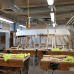 Eastleigh College Wood Tech Room