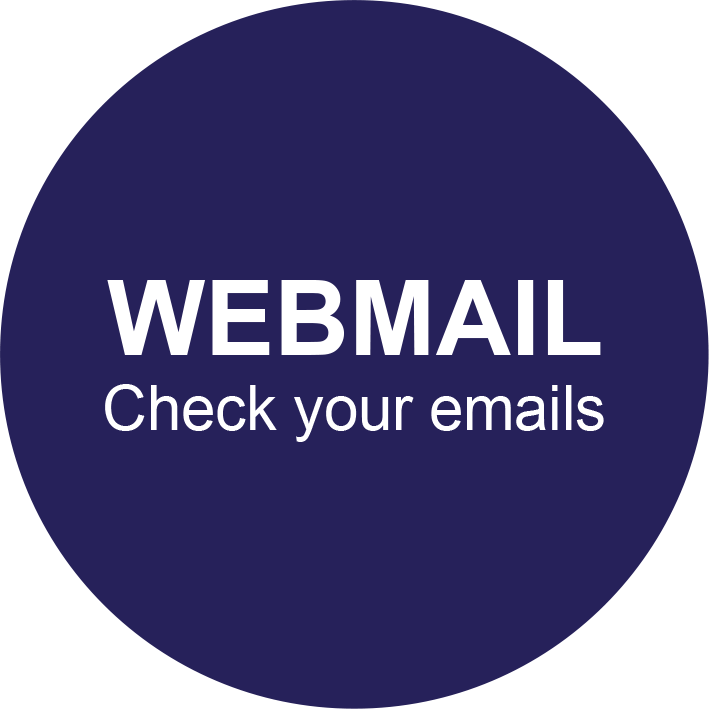 WEBMAIL - Check your emails
