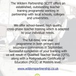 Train to Teach with us - Wildern Partnership