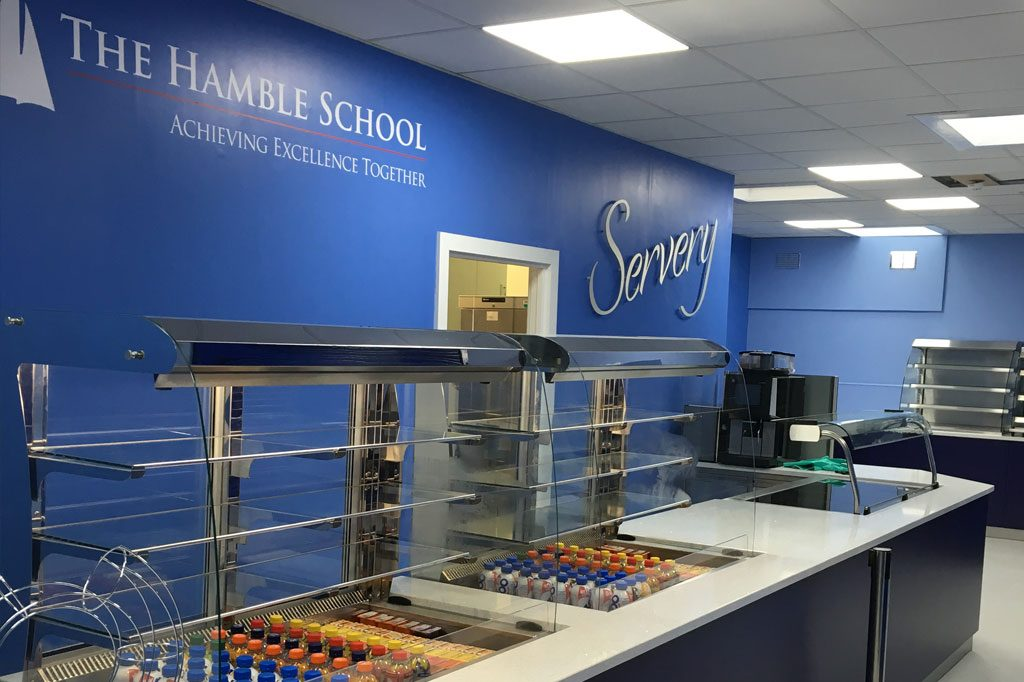 The Hamble School Servery