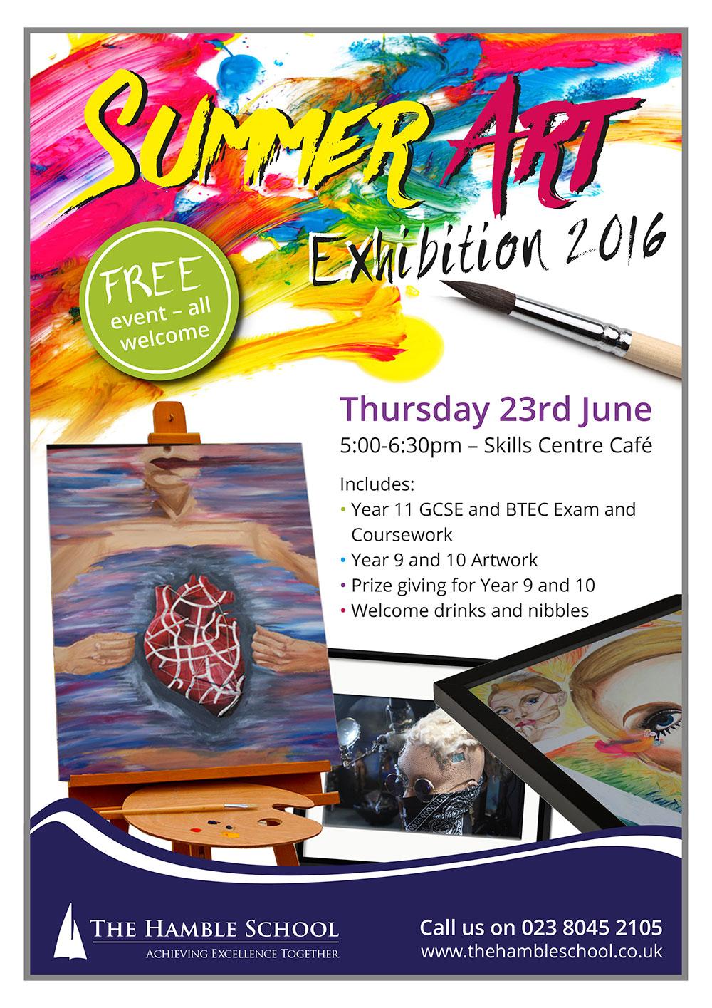 Summer Art Exhibition 2016