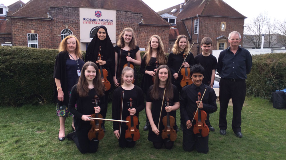 Hampshire Youth Folk Ensemble