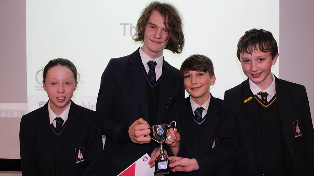 SLS Lit Quiz regional winners
