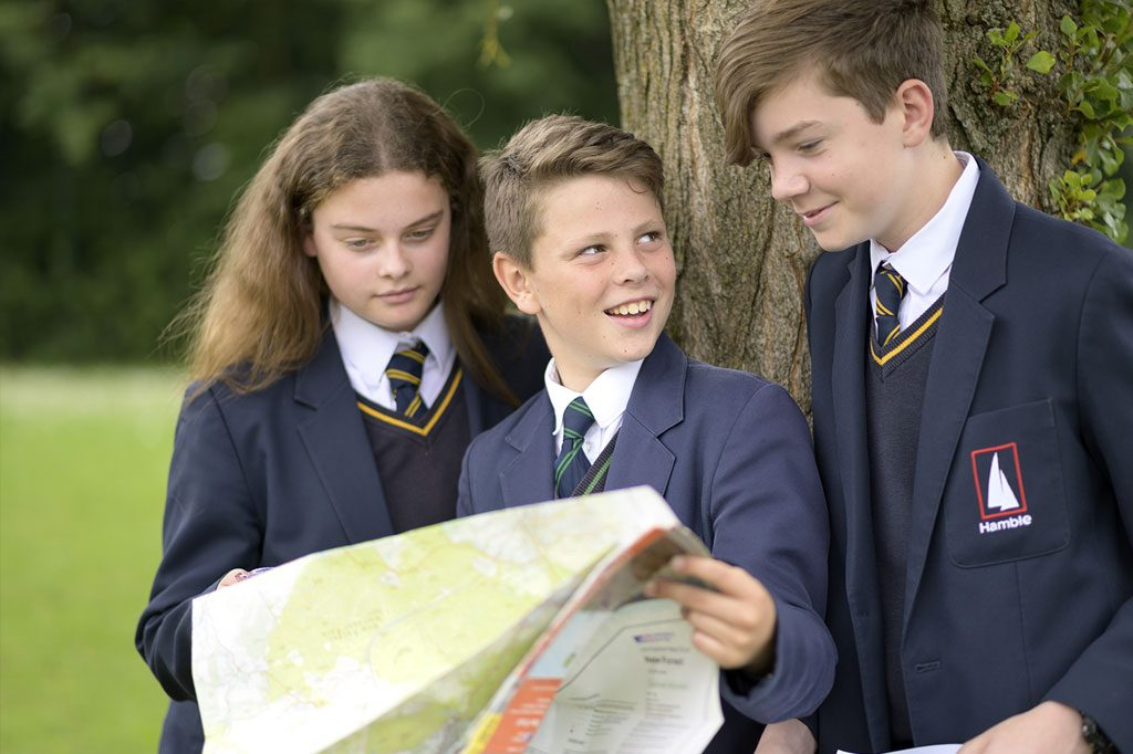 Transition to The Hamble School