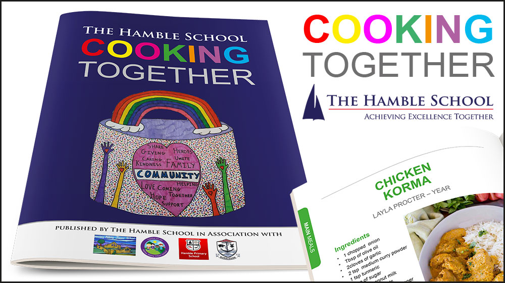 'Cooking Together' cookbook 2020