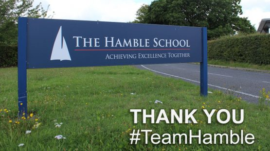 Thank You - #TeamHamble