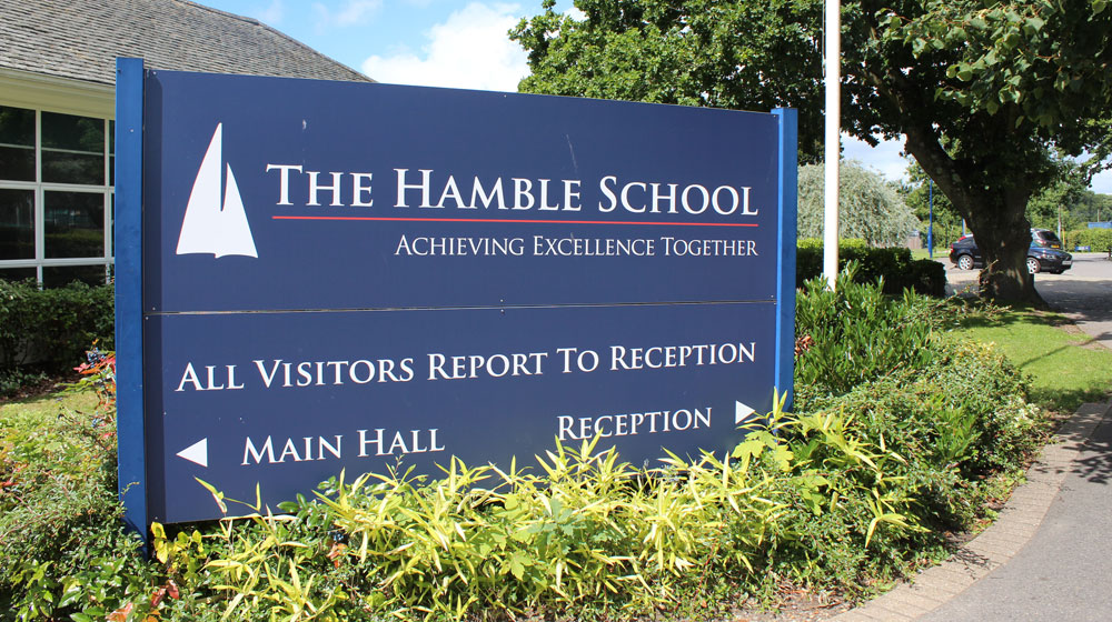 Welcome to The Hamble School