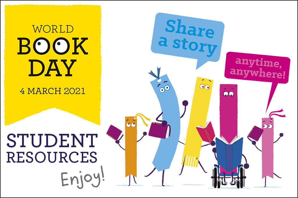 Student Resources – World Book Day 2021
